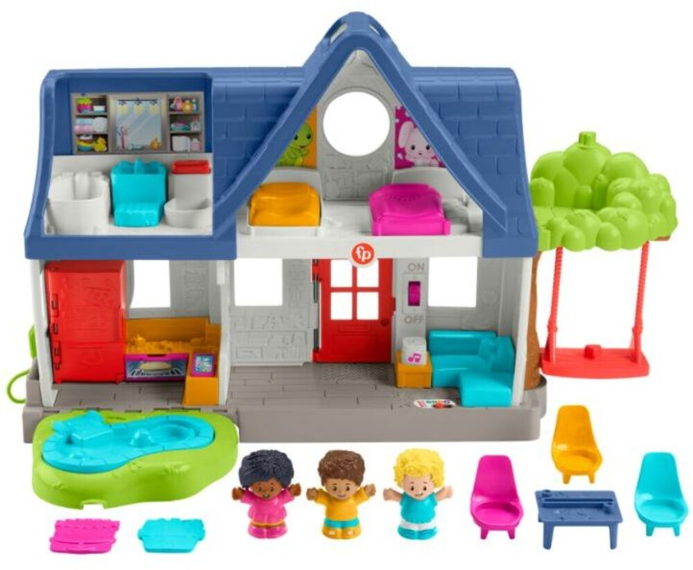 Little People - Fisher Price - Little People Let's Be Friends House Stackable