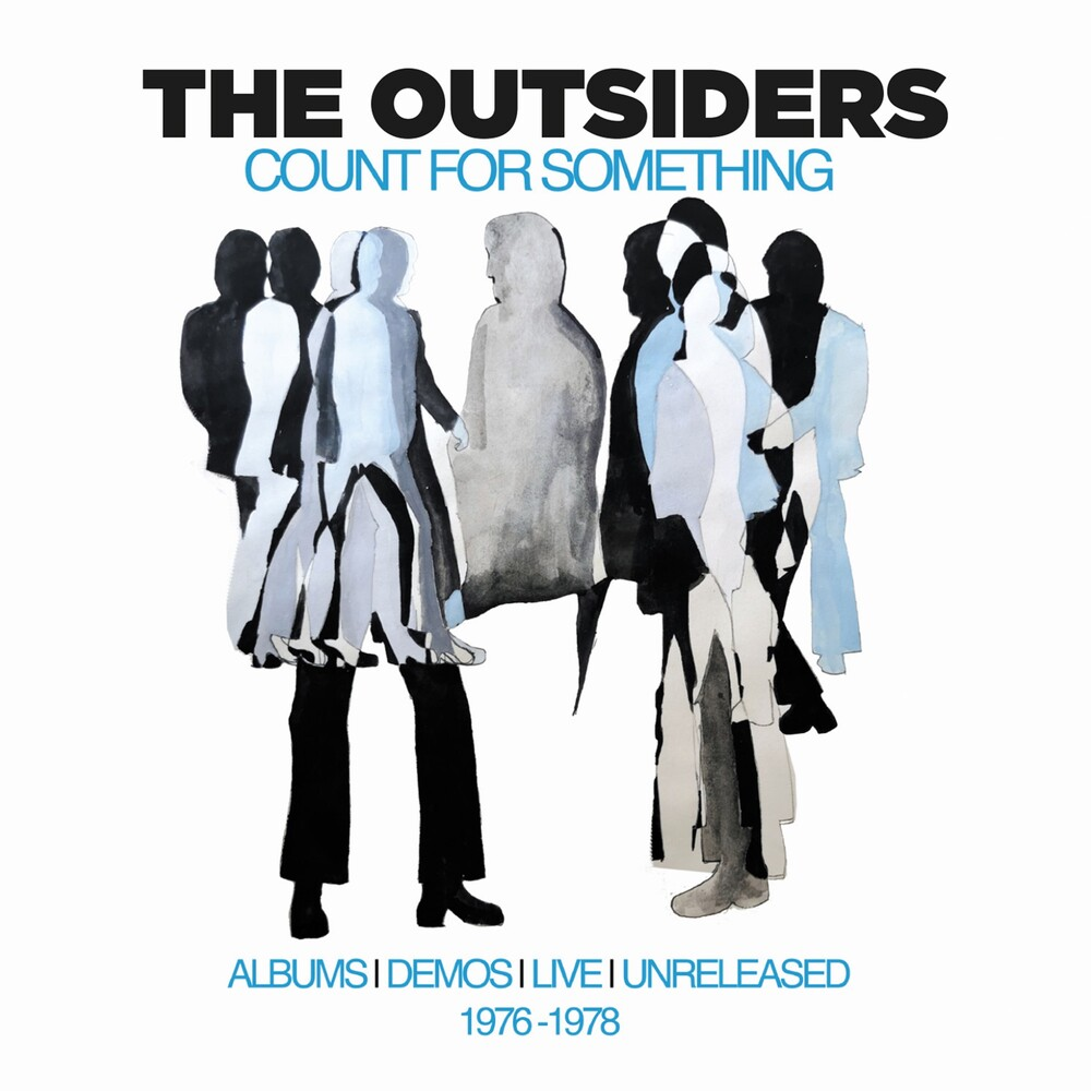 Outsiders - Count For Something: Albums Demos Live (Box) (Uk)