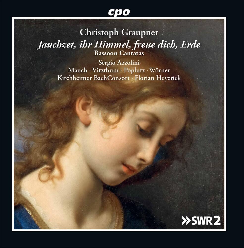 Graupner / Kirchheimer Bachconsort / Heyerick - Bassoon Cantatas (2pk)