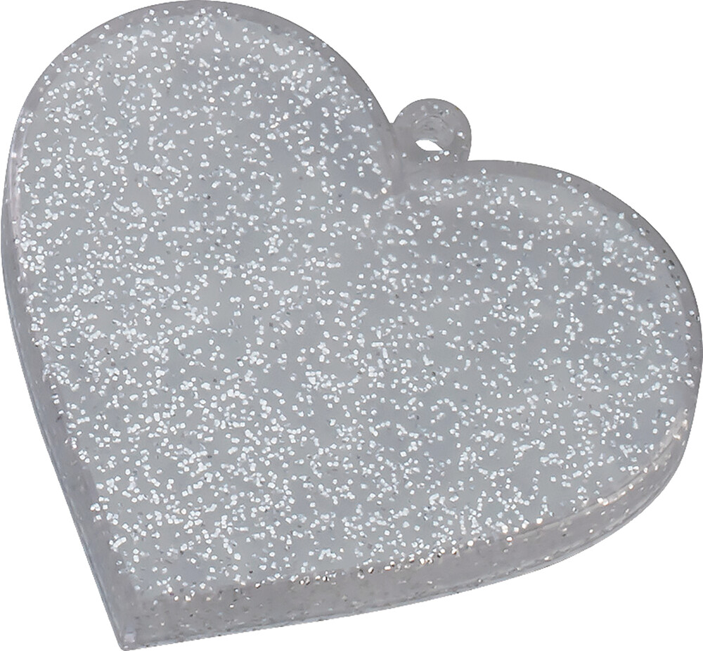 - Nendoroid More Heart Base Silver Glitter (Clcb)
