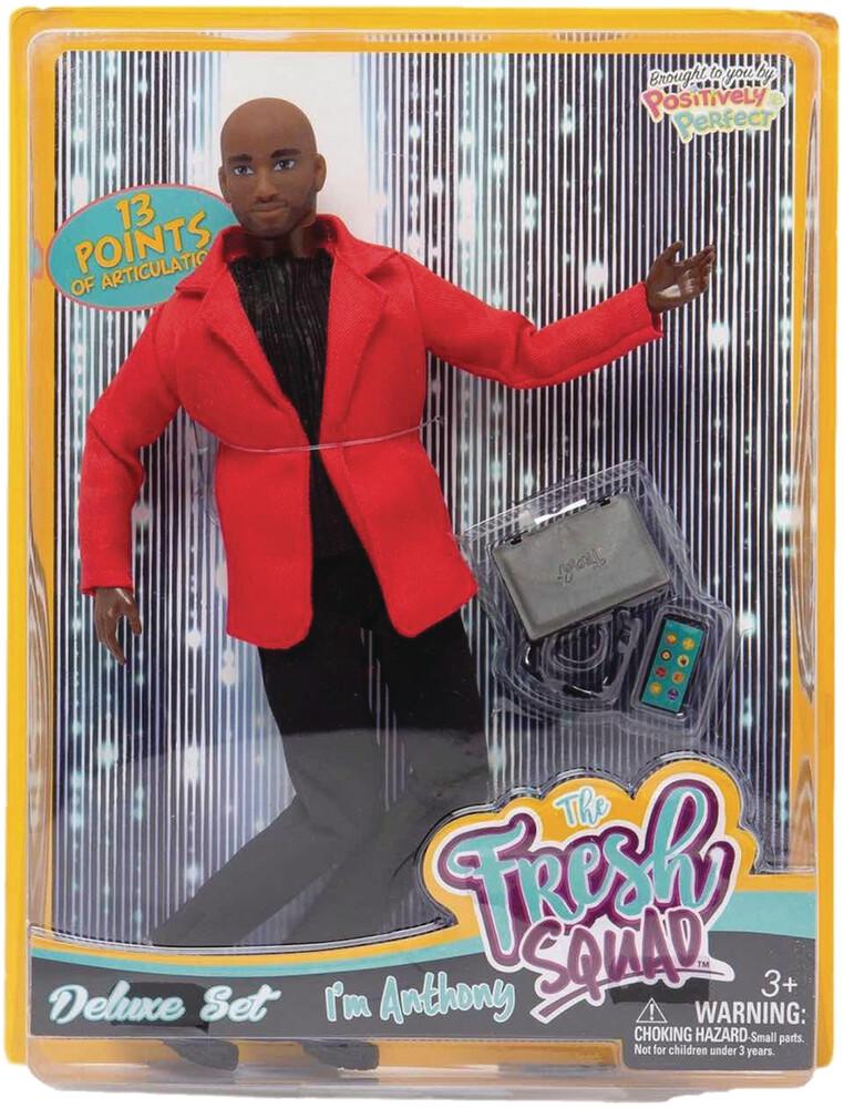 World of Epi - Fresh Squad Anthony Deluxe Set Doll (Net)