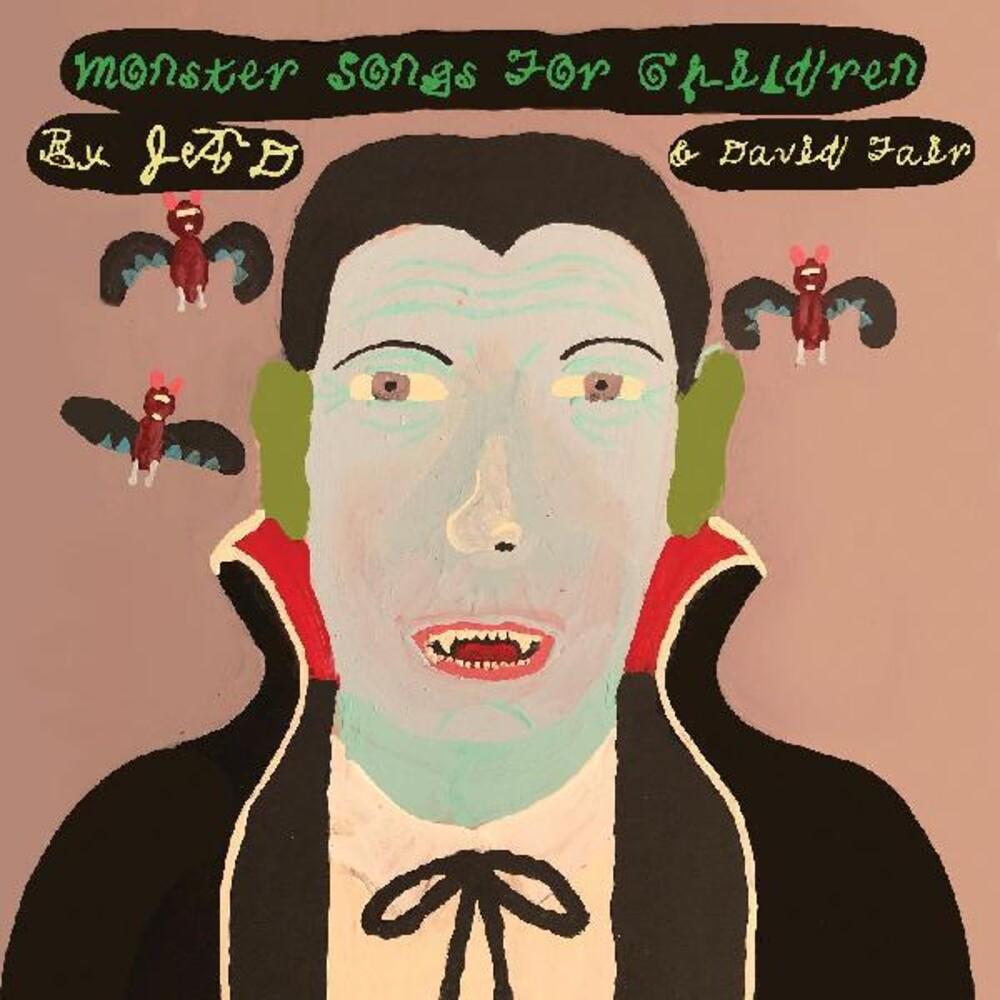 Jad Fair  & David - Monster Songs For Children (Blk) [Colored Vinyl] (Grn)