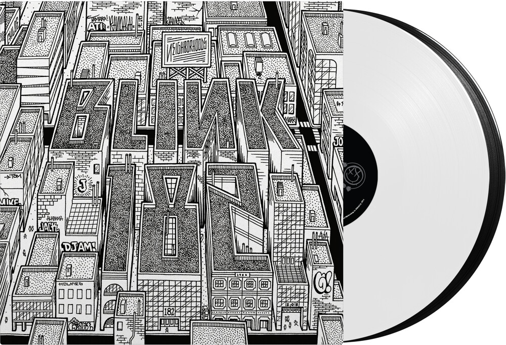 blink-182 - Neighborhoods [Limited Edition Black & White LP]