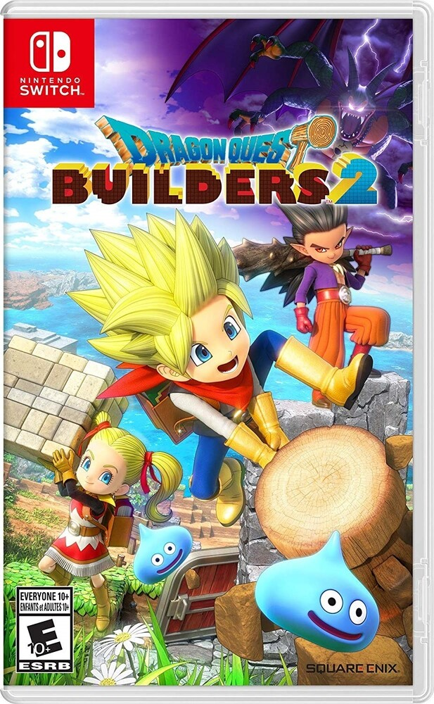Swi Dragon Quest Builders 2 - Dragon Quest Builders 2 for Nintendo Switch