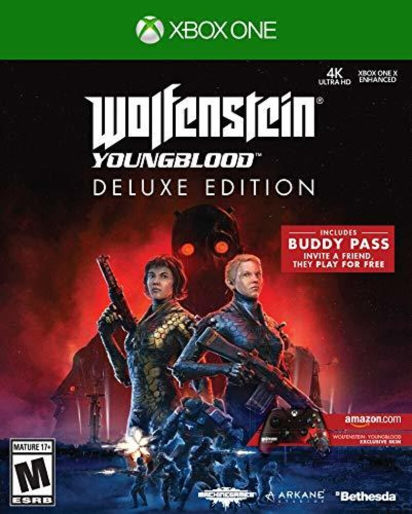 Xb1 Wolfenstein: Youngblood De - Wolfenstein: Youngblood for Xbox One Deluxe Edition