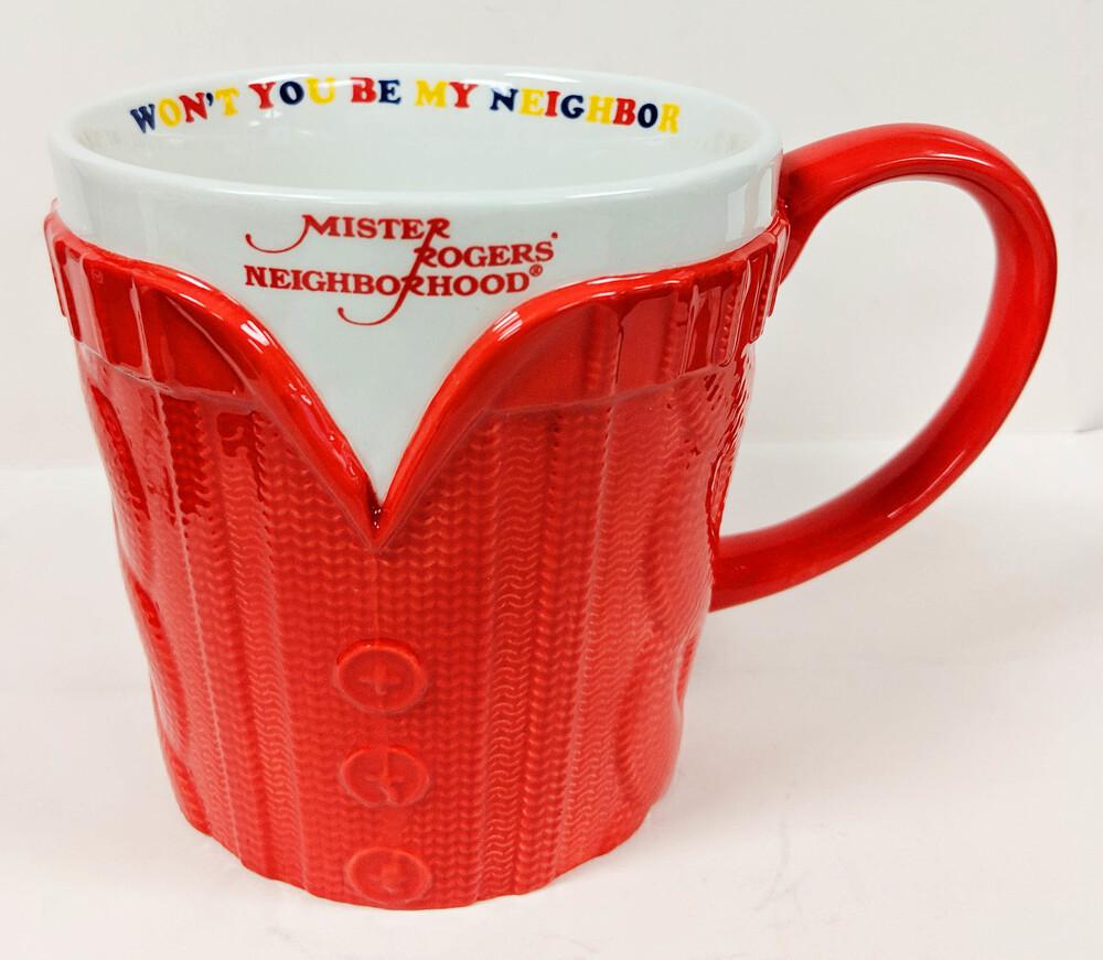 Mr Rogers Molded Sweater Mug - Mr Rogers Molded Sweater Mug