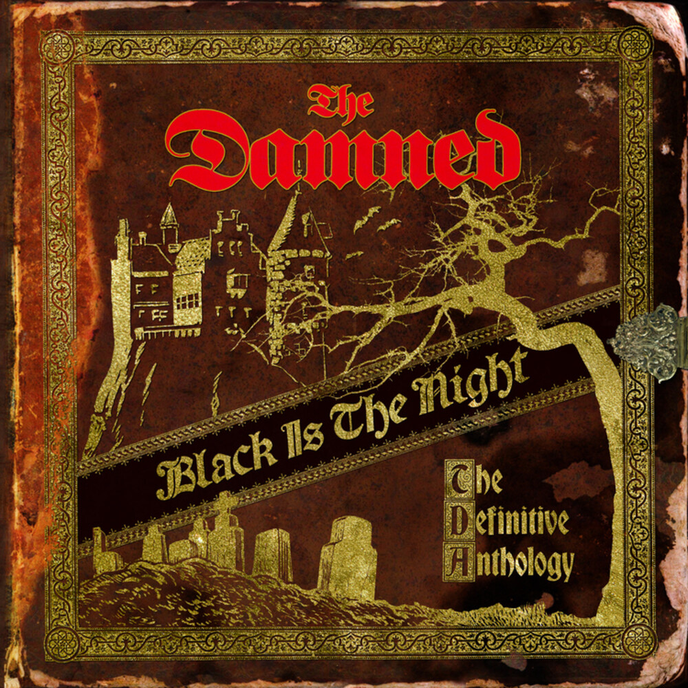 The Damned - Black Is the Night: The Definitive Anthology [LP]