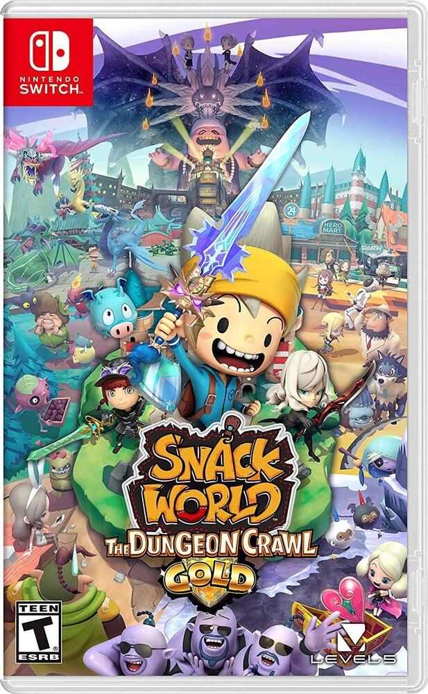 Swi Snack World: Dungeon Crawl - Gold - Snack World: Dungeon Crawl - Gold