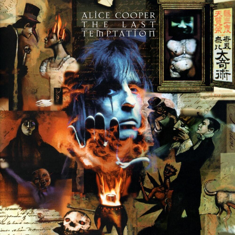 Alice Cooper - Last Temptation (Audp) (Blue) [Colored Vinyl] (Gate) [180 Gram]