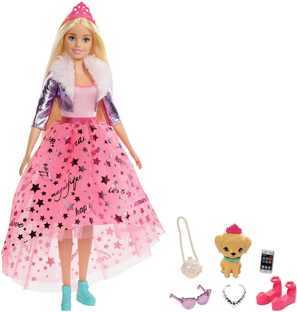 Barbie - Mattel - Barbie Dreamhouse Adventures Deluxe Princess, Blonde