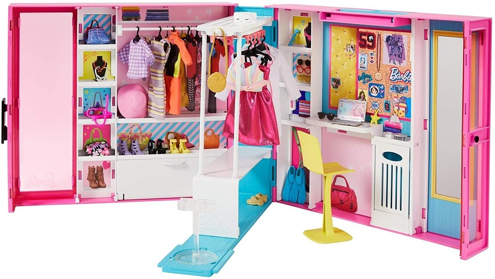 Barbie - Mattel - Barbie Fashionista Dream Closet