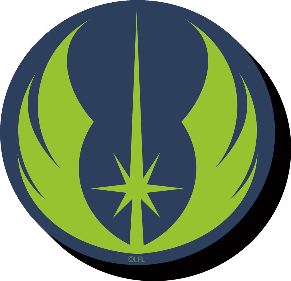 Star Wars Jedi Symbol Funky Chunky Magnet - Star Wars Jedi Symbol Funky Chunky Magnet