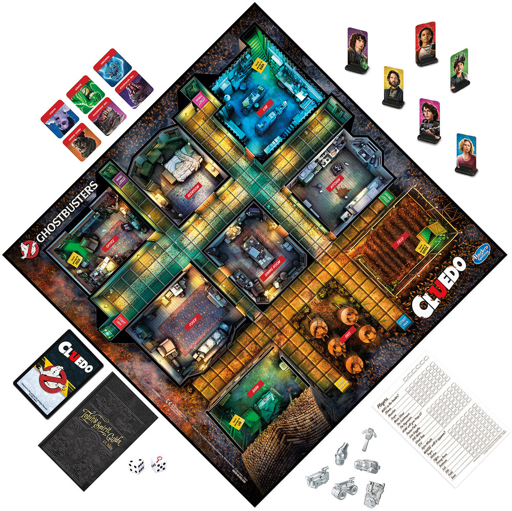 Clue - Hasbro Gaming - Ghostbusters Clue