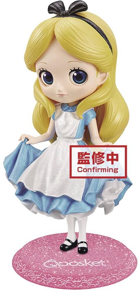 Banpresto - BanPresto Disney Q posket Glitter Alice Figure