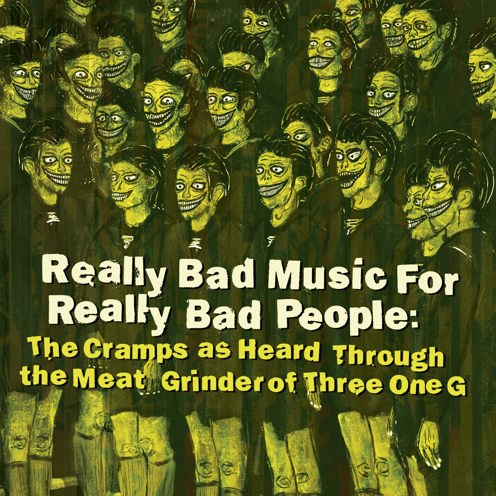 Really Bad Music For Really Bad People / Various - Really Bad Music For Really Bad People: Cramps As Heard Through The Meat Grinder... (Various Artists)