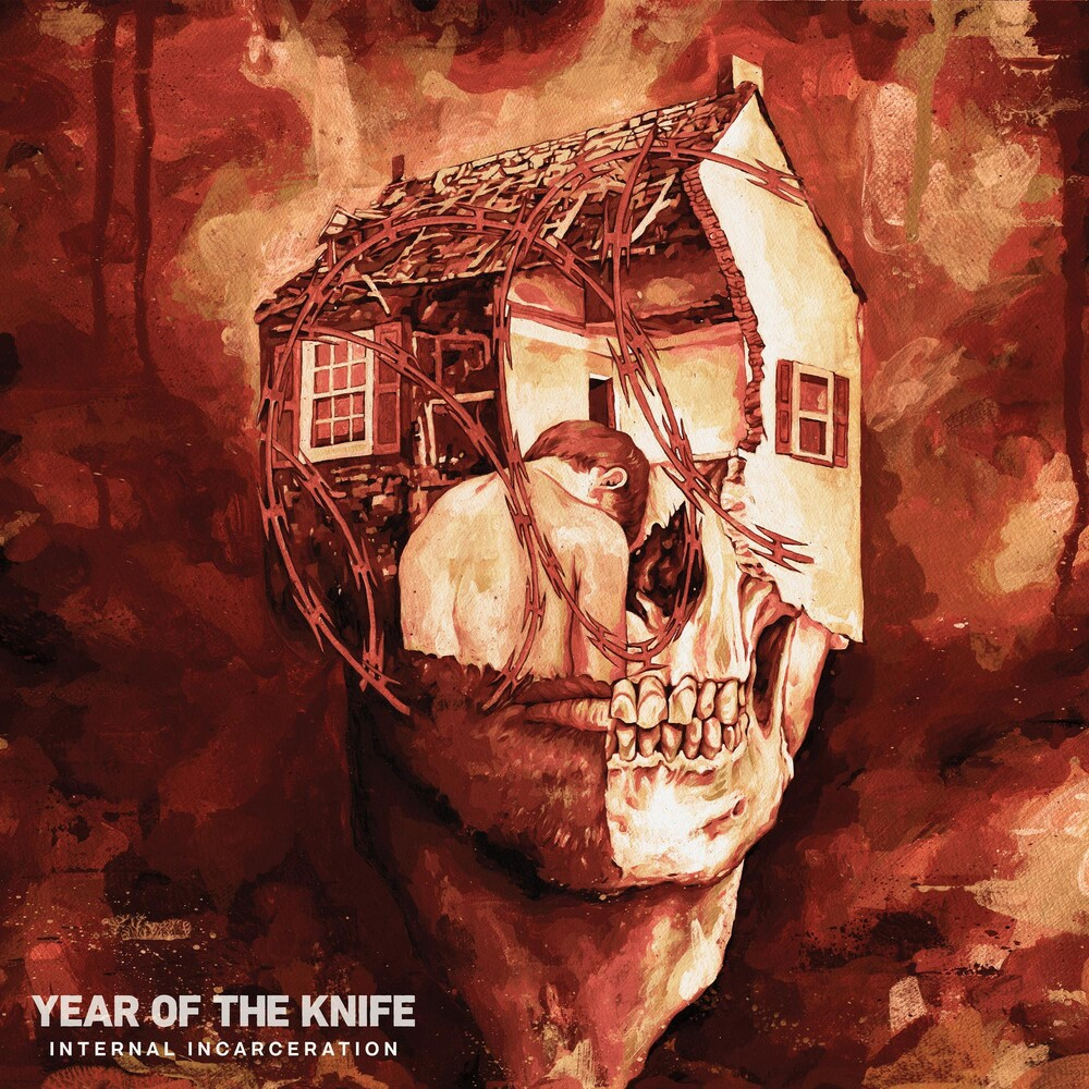 Year of the Knife - Internal Incarceration [Indie Exclusive Limited Edition Blood Red and Oxblood Pinwheel LP]