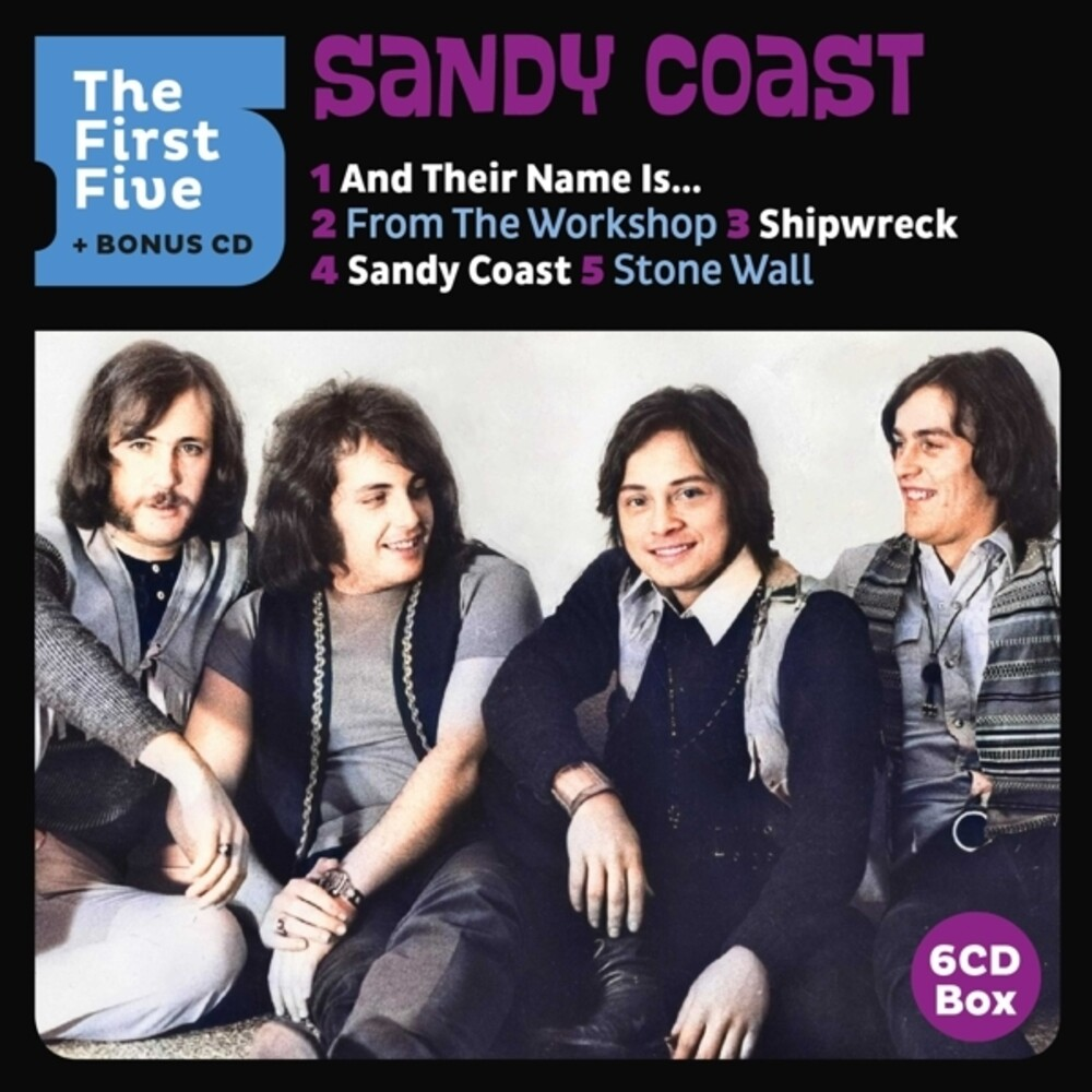 Sandy Coast - First Five (Bonus Cd) (Box) (Hol)