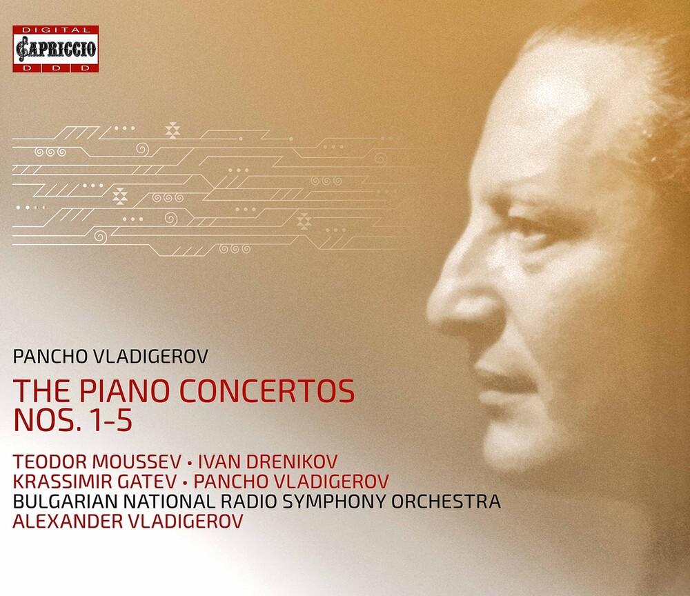 Vladigerov - Piano Concertos 1-5 (3pk)