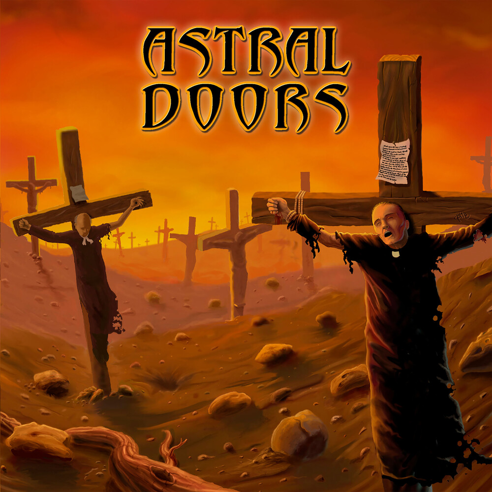 Astral Doors - Of The Son And The Father (Orange Vinyl)