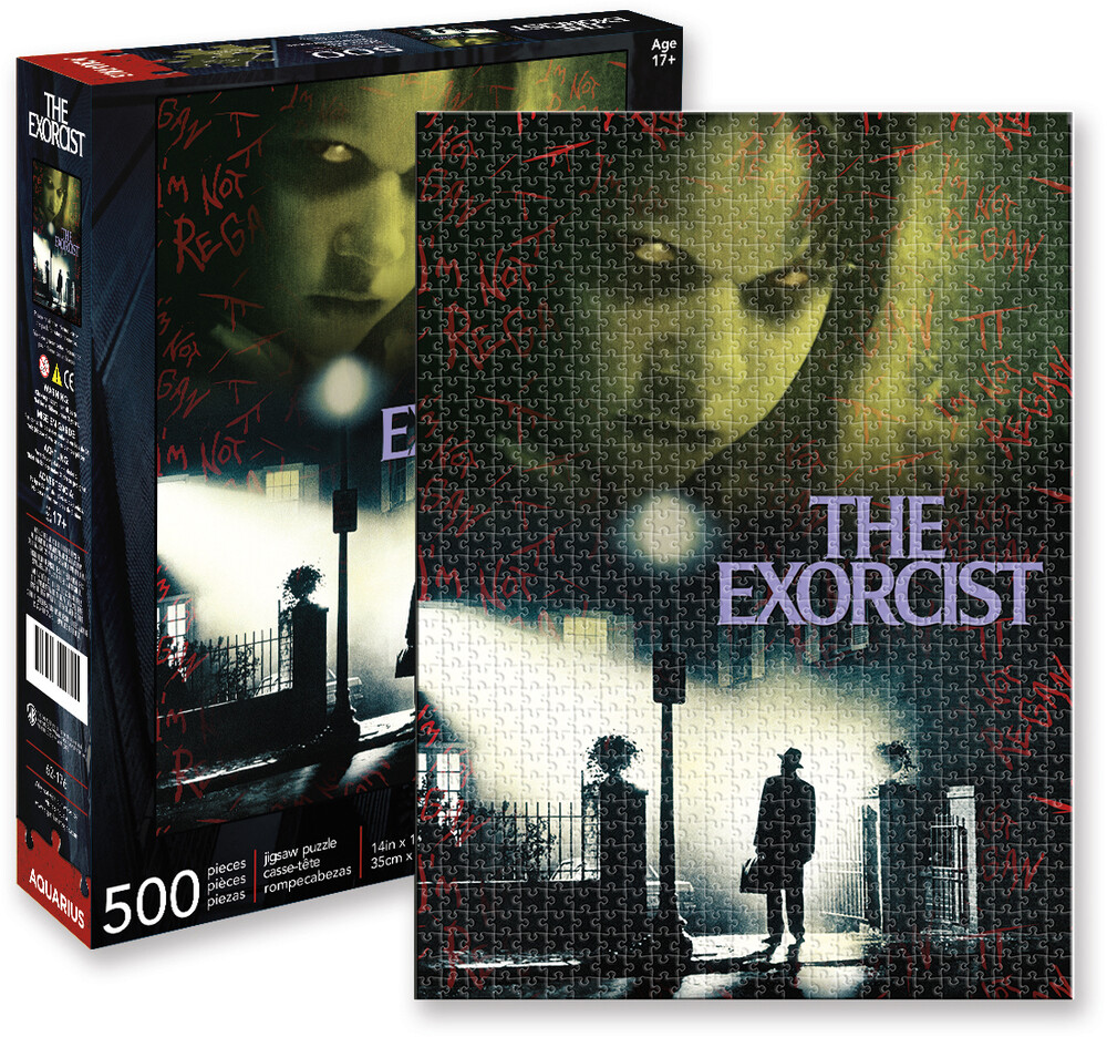 Exorcist Collage Puzzle 500 PC Jigsaw Puzzle - The Exorcist Collage 500 Pc Jigsaw Puzzle