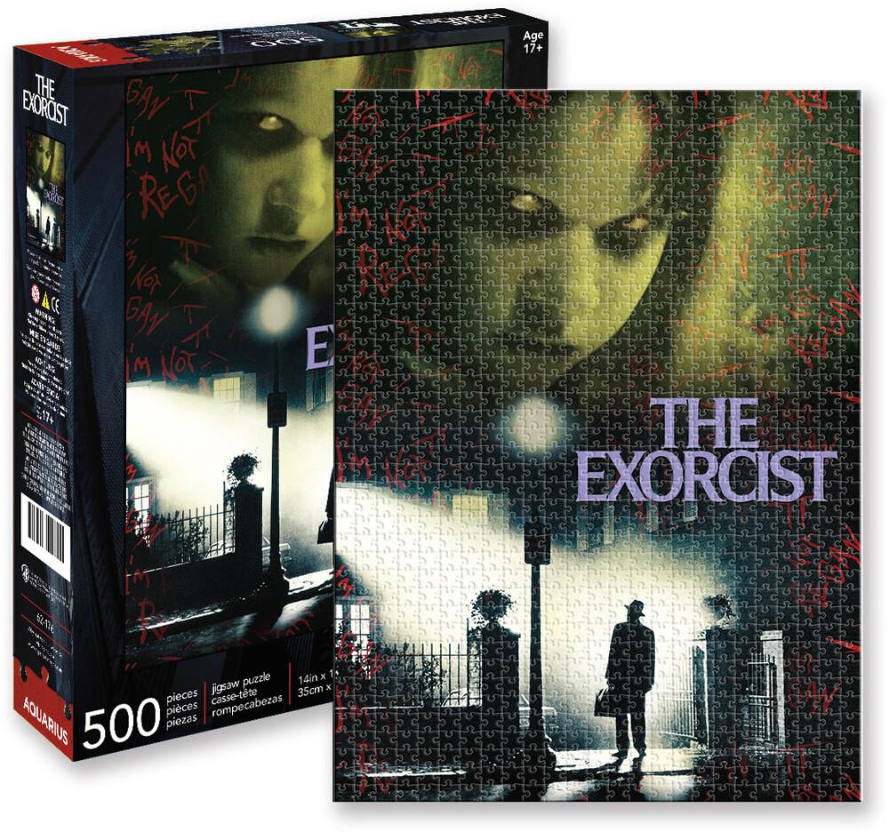 Exorcist Collage Puzzle 500 PC Jigsaw Puzzle - Exorcist Collage Puzzle 500 Pc Jigsaw Puzzle