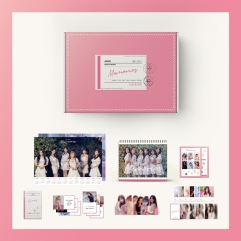 Apink - 2021 Season's Greetings (incl. 2021 Calendar, 28pg Desk Calendar,130pg Diary, 6pc Paper Stand Set, 6pc Message Card Set, 2pc Sti
