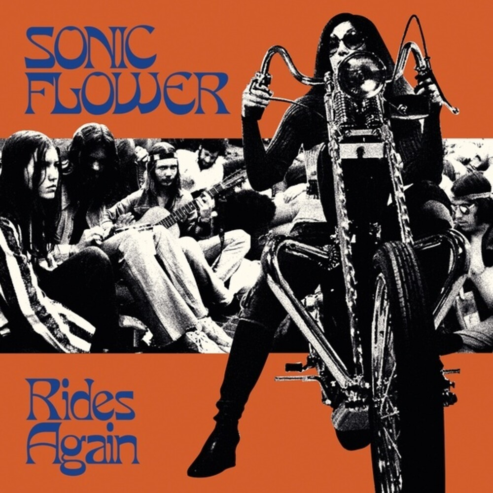 Sonic Flower - Rides Again (Blue) [Colored Vinyl] (Org)
