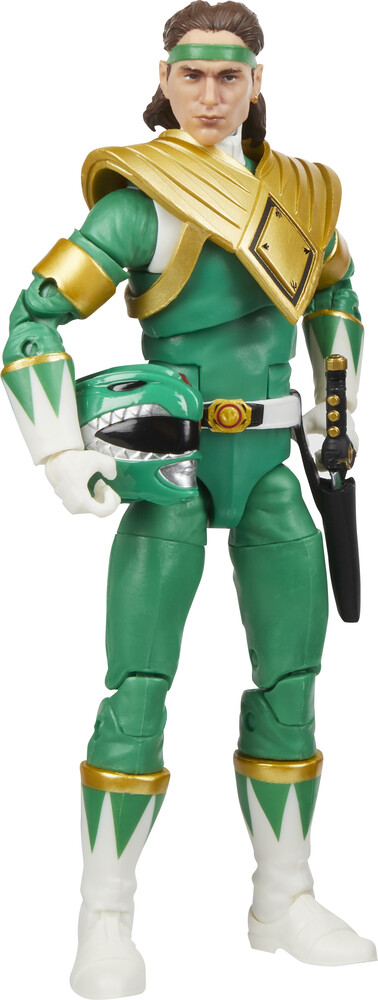 Prg Blt Sre Mercury - Hasbro Collectibles - Power Rangers Lightning Collection Mighty Morphin Green Ranger
