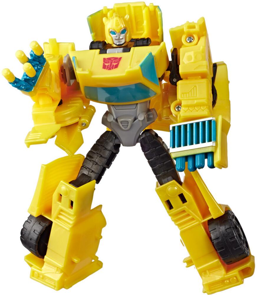 Tra Cyberverse Warrior Bumblebee - Hasbro Collectibles - Transformers Cyberverse Warrior Bumblebee
