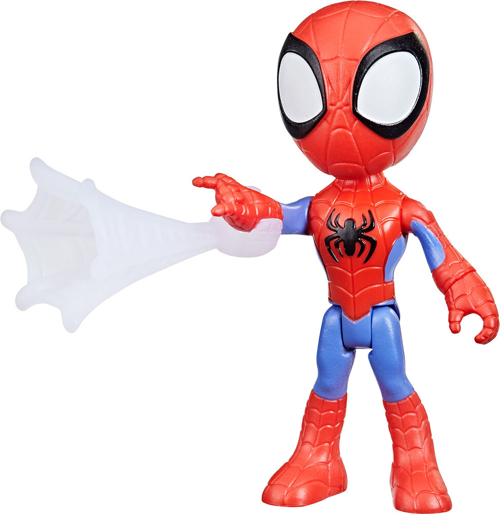 Saf Spidey Figure - Hasbro Collectibles - Spidey And His Amazing Friends Spidey Figure