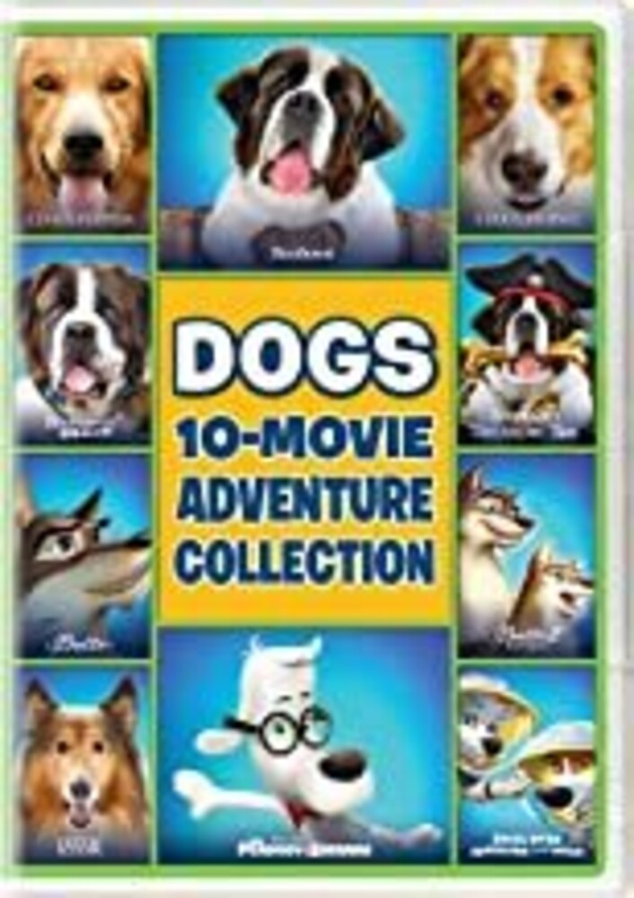 Dogs 10-Movie Adventure Collection - Dogs 10-Movie Adventure Collection (10pc) / (Box)
