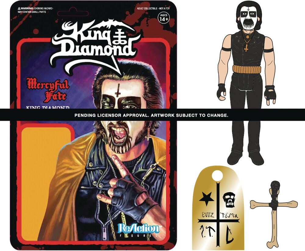 King Diamond Reaction - First Tour - Super7 - King Diamond ReAction - First Tour