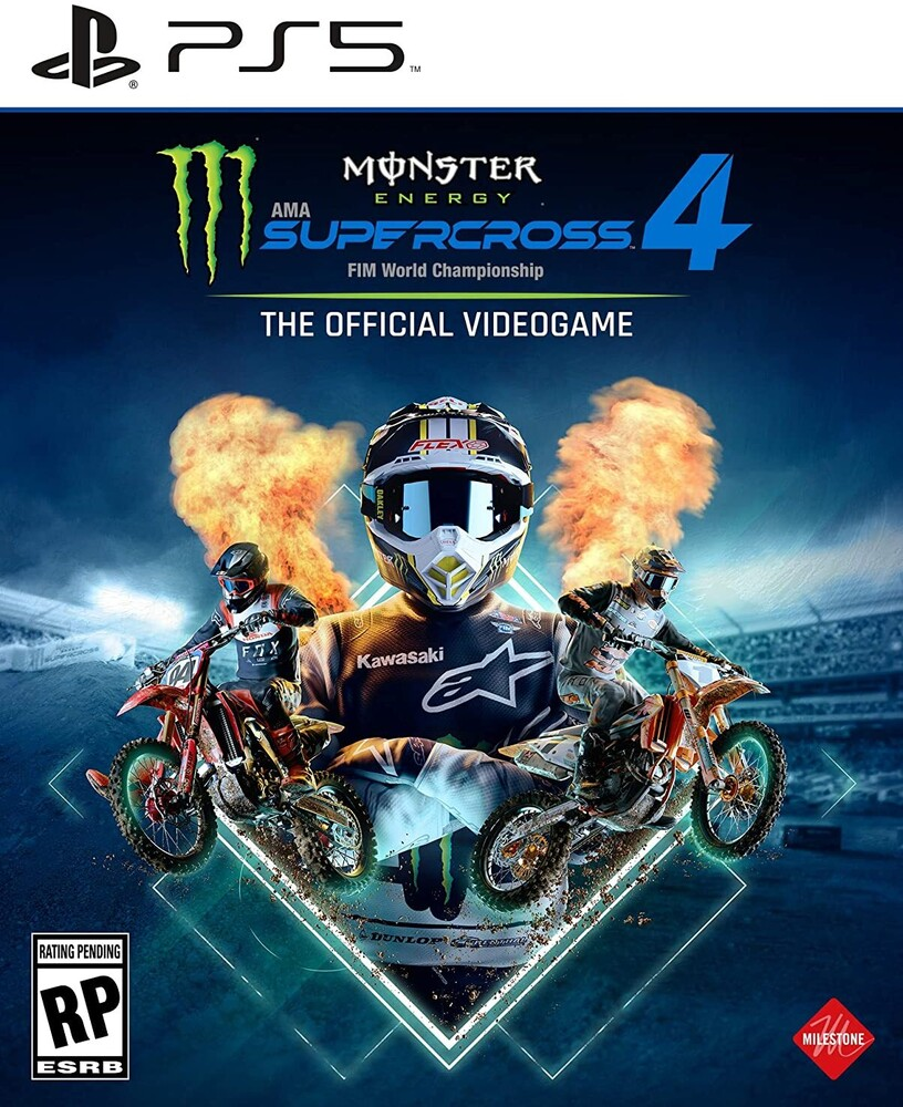 Ps5 Monster Energy Supercross 4 - Ps5 Monster Energy Supercross 4