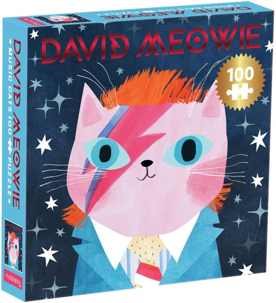 - David Meowie Music Cats 100 Piece Puzzle