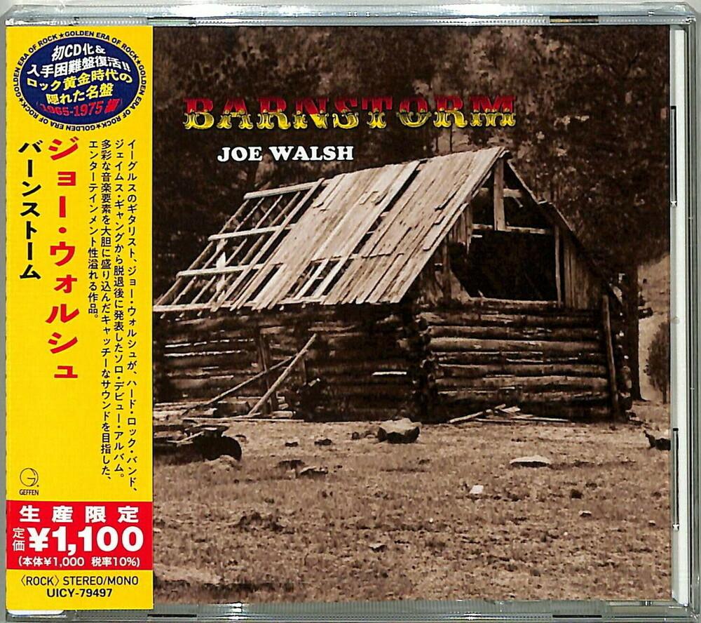 Joe Walsh - Barnstorm [Reissue] (Jpn)