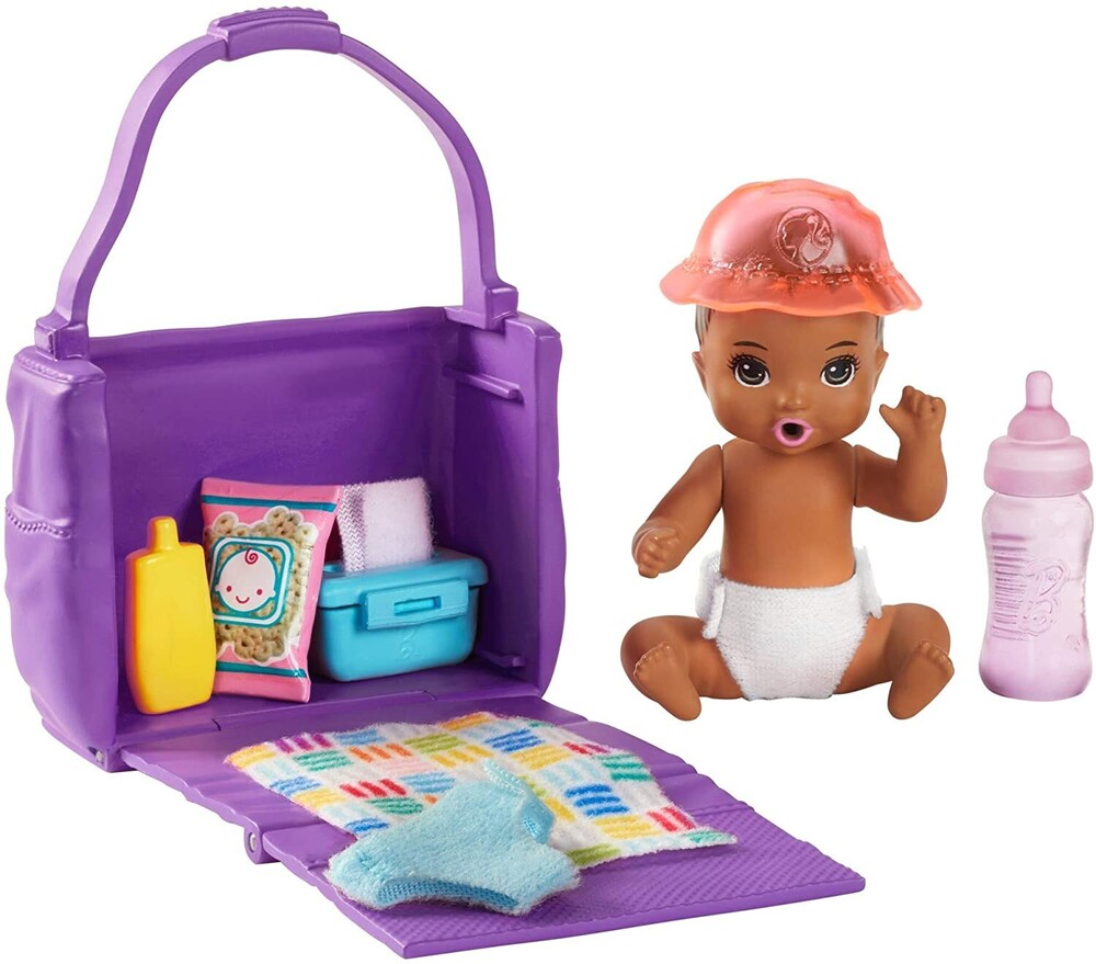 - Mattel - Barbie Skipper Babysitters Inc. Feeding and Changing Playset