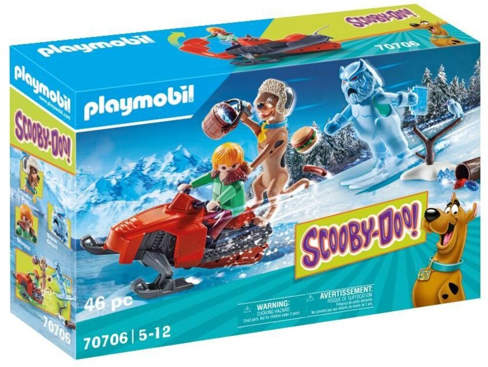- Scooby Doo Adventure With Snow Ghost (Fig)