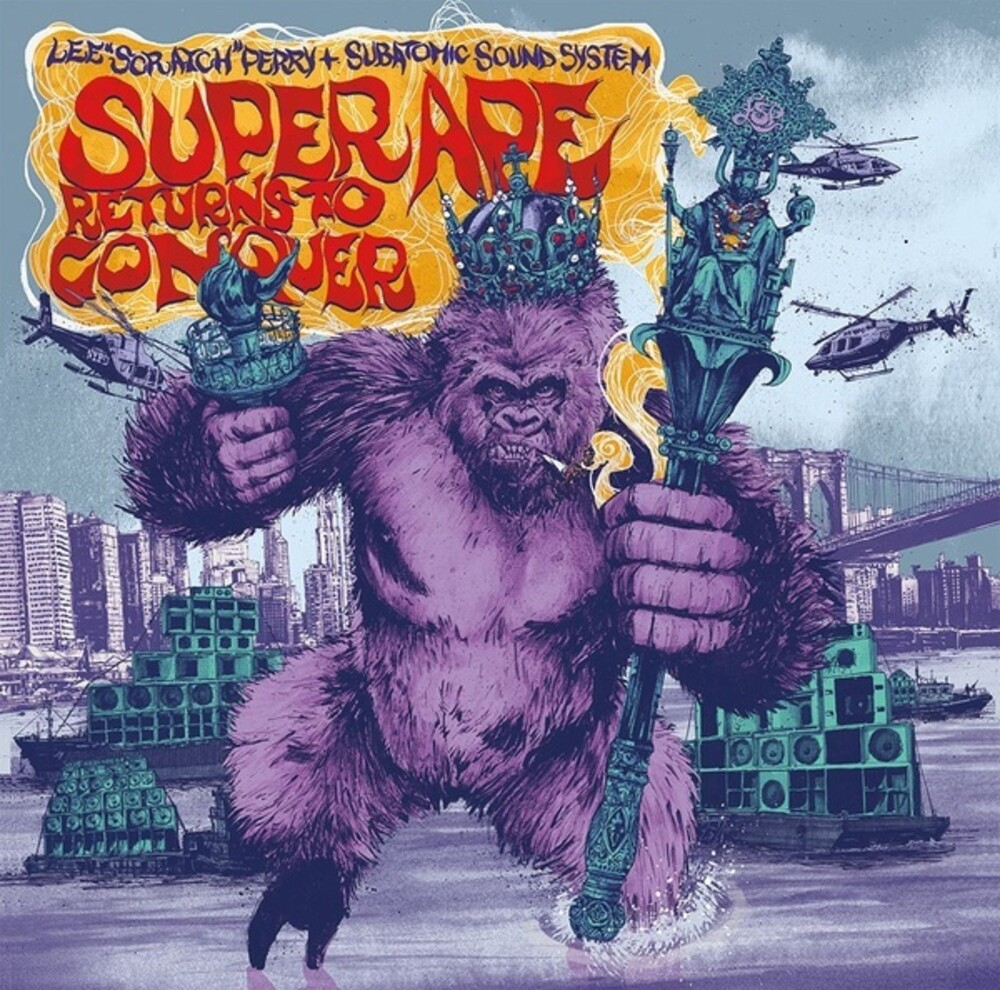 Lee Perry  Scratch & Subatomic Sound System - Super Ape Returns To Conquer [Colored Vinyl]
