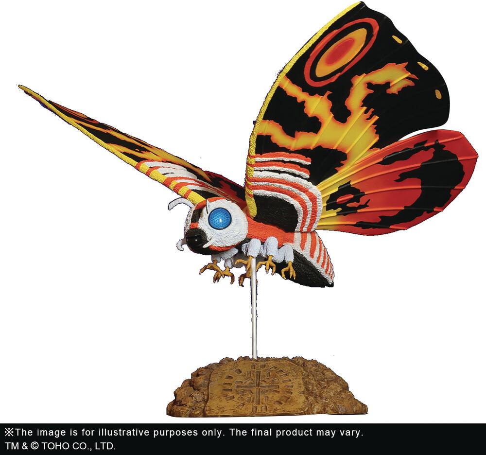 - Godzilla 1992 Toho Lg Kaiju Ser Mothra 15in Pvc