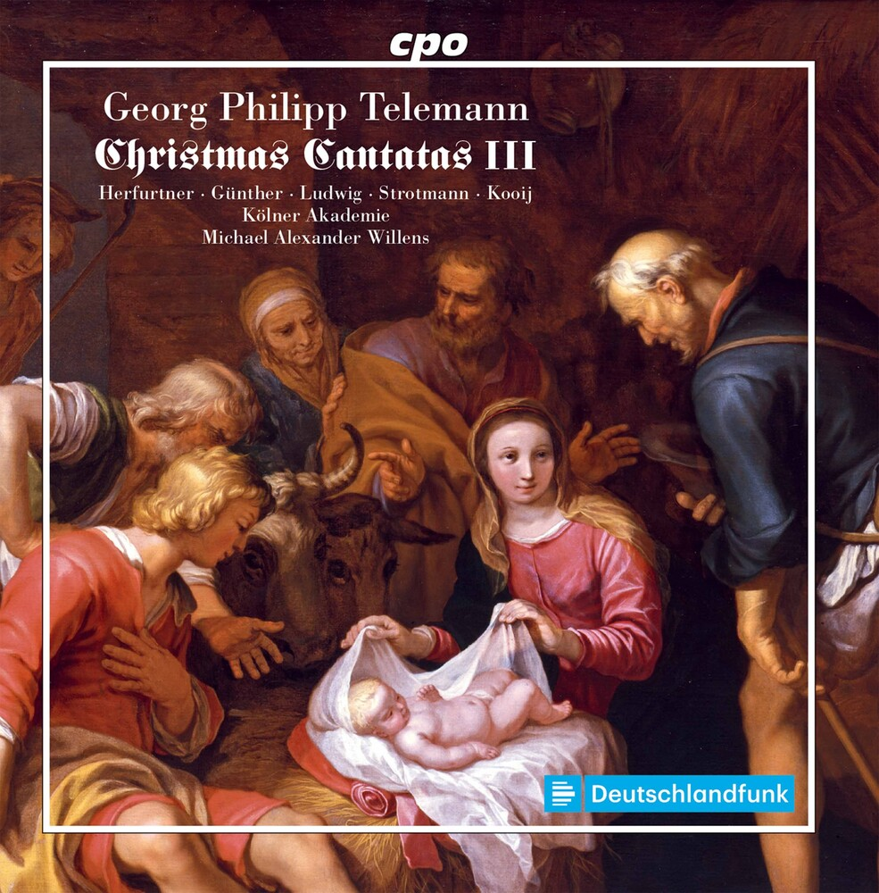 Telemann / Kolner Akademie / Willens - Christmas Cantatas 3