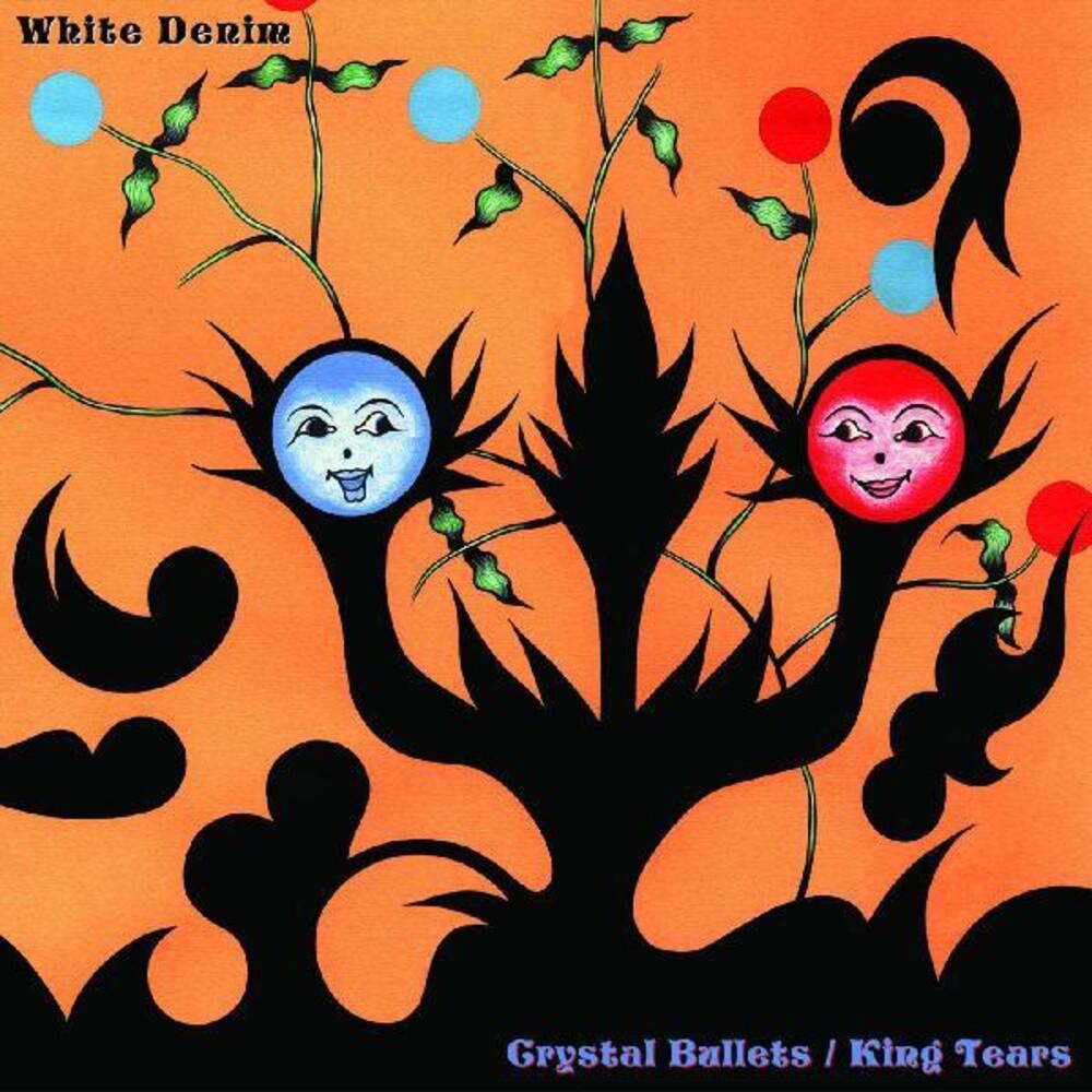 White Denim - Crystal Bullets / King Tears (Blue) [Colored Vinyl] (Red)