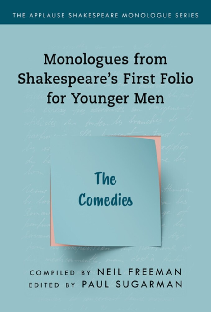 Neil Freeman - Shakespeares Monologues For Younger Men Comedies