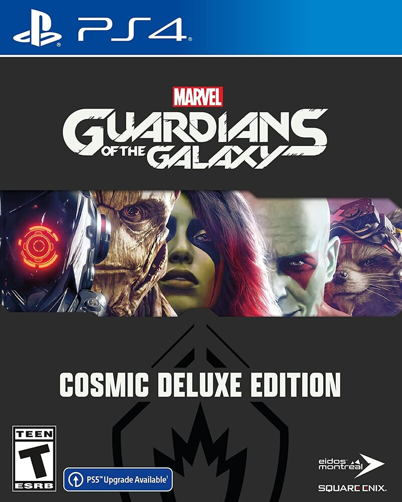 Ps4 Marvel's Guardians of the Galaxy - Deluxe Ed - Marvel's Guardians of the Galaxy Deluxe Edition for PlayStation 4
