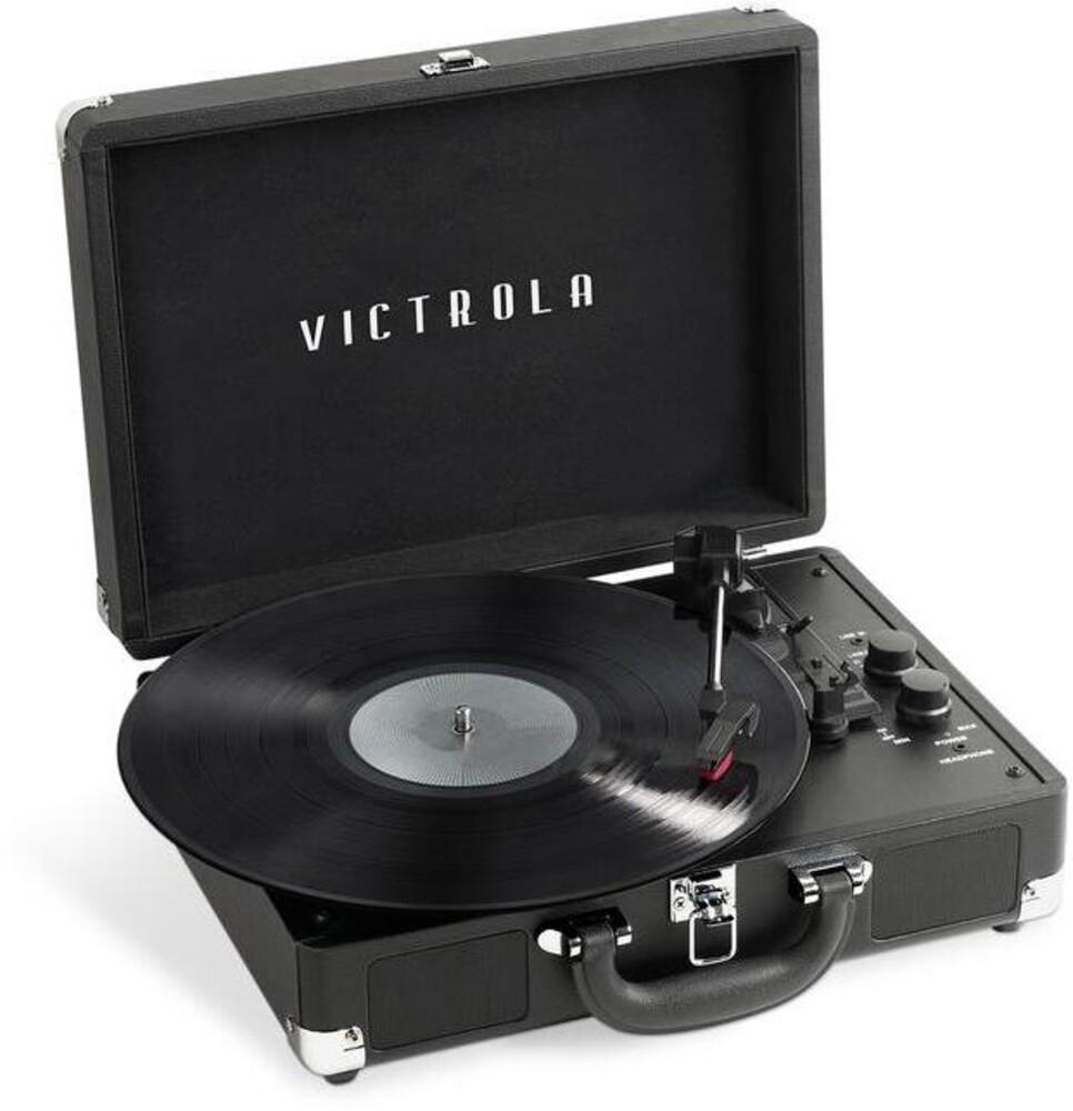 Victrola Vsc400sbblk Journey+ Dbt Suitcase Tt Blk - Victrola Vsc400sbblk Journey+ Dbt Suitcase Tt Blk