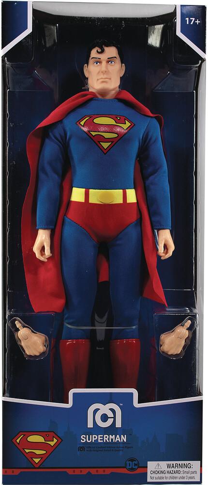 - Mego Dc Comics Superman 14in Af (Afig) (Clcb)