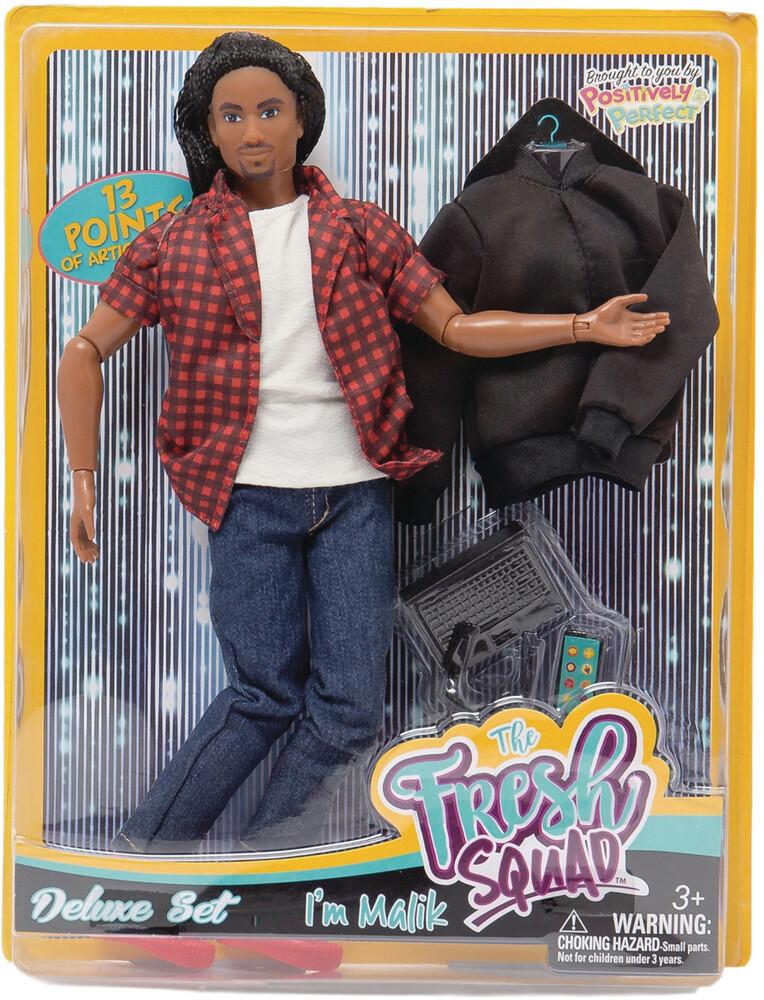 World of Epi - Fresh Squad Malik Deluxe Set Doll (Net)