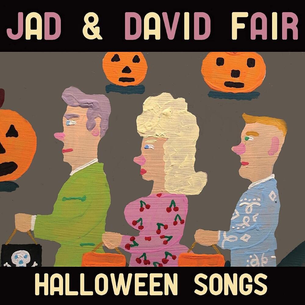Jad Fair  & David - Halloween Songs (Blk) [Clear Vinyl] (Org) [Download Included]