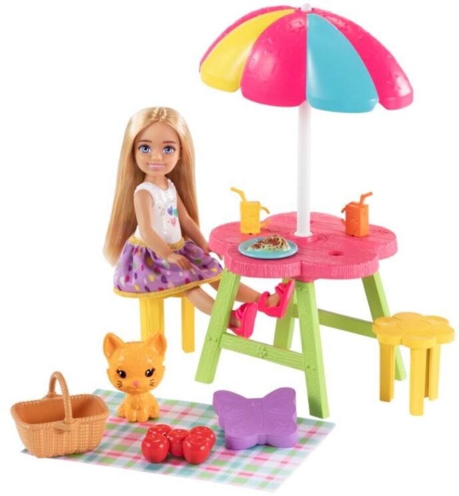 Barbie - Barbie Family Chelsea Picnic Playset (Papd)