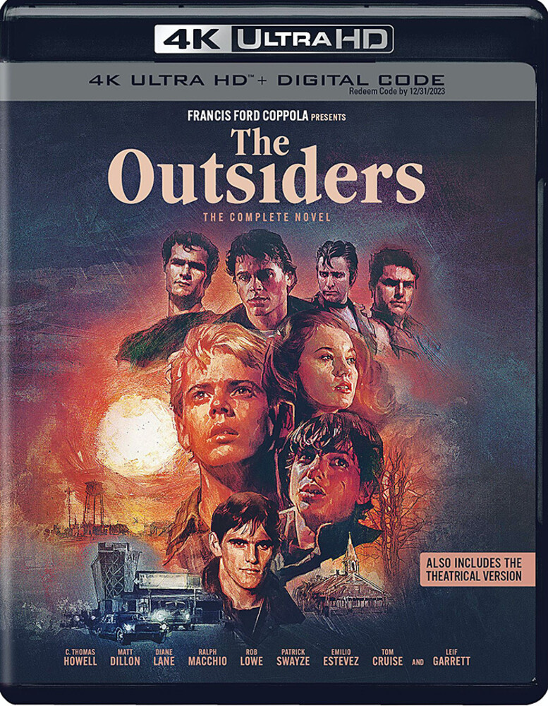 Outsiders 2-Film 4K Collection - The Outsiders 2-Film 4K Collection