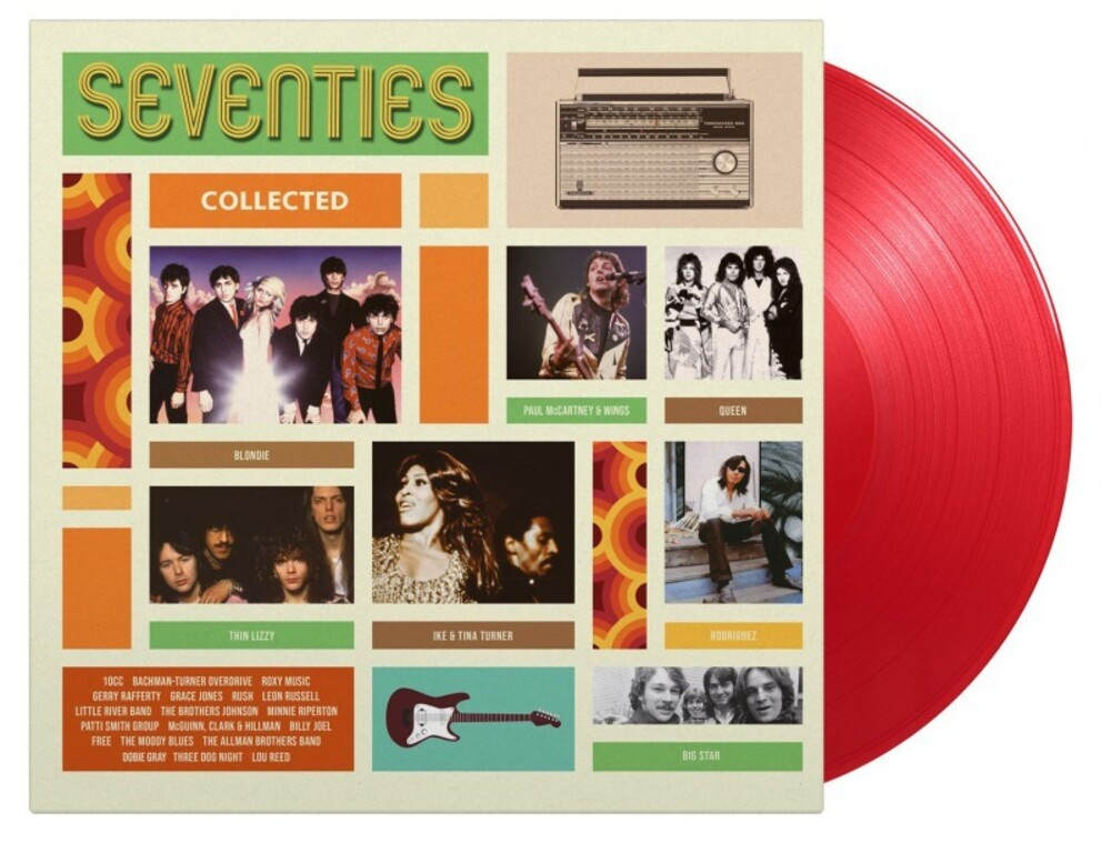 Seventies Collected / Various - Seventies Collected / Various [Colored Vinyl] [Limited Edition] [180 Gram]